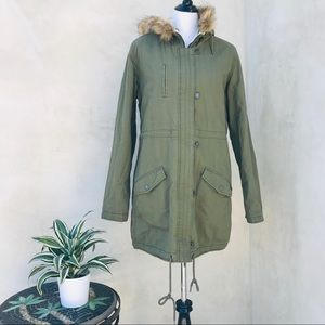 Roxy Essential Element Hooded Parka NWT
